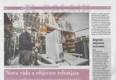 Noticia sobre Segunda Mano Granollers en el periódico Nou9